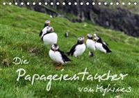 Die Papageientaucher von Mykines (Tischkalender 2020 DIN A5 quer)