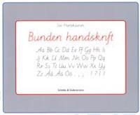 Bunden handskrift