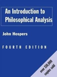 Introduction to Philosophical Analysis