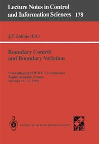 Boundary Control and Boundary Variation