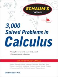 3,000 Solved Problems in Calculus