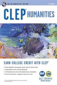 CLEP(R) Humanities Book + Online