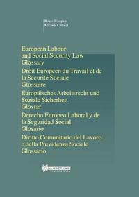 European Labour and Social Security Law, Glossary