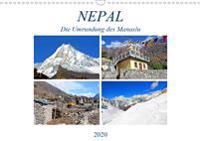 NEPAL, die Umrundung des Manaslu (Wandkalender 2020 DIN A3 quer)