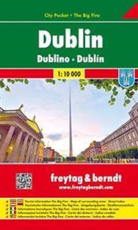 Dublin 1 : 10 000 City Pocket + The Big Five