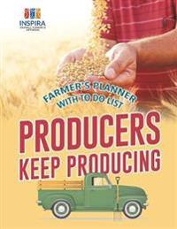 Producers Keep Producing Farmer's Planner with to Do List