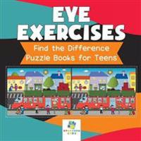 Eye Exercises Find the Difference Puzzle Books for Teens - Educando Kids - böcker (9781645216445)     Bokhandel
