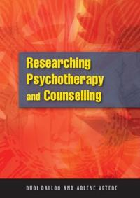 Researching Pschotherapy And Counselling