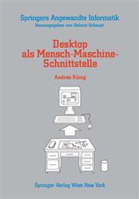 Desktop als mensch-maschine-schnittstelle