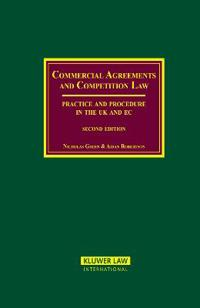 Commercial Agreements and Competition Law