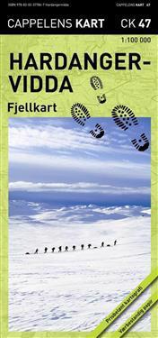 Trollheimen-Dovre Fjellkart Cappelen CK43 : 1:50000-1:100000
