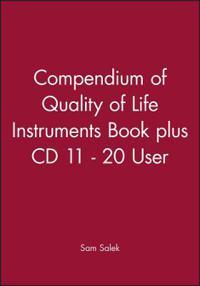 Compendium of Quality of Life Instruments Book plus CD 2 - 10 User