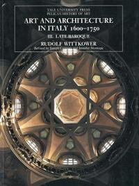 Art and Architecture in Italy, 1600-1750