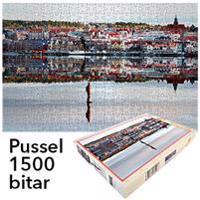 Pussel 1500 bitar Skridskoåkaren Östersund