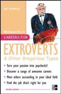 Careers For Extroverts & Other Gregarious Types