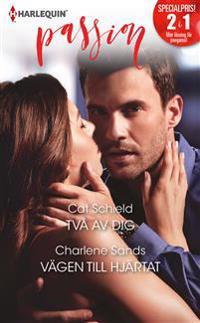 Två av dig / Vägen till hjärtat - Cat Schield, Charlene Sands pdf epub