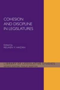 Cohesion and Discipline in Legislatures