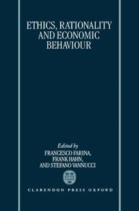 Ethics, Rationality, and Economic Behaviour