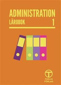 Administration 1 - Lärobok - Meg Marnon pdf epub