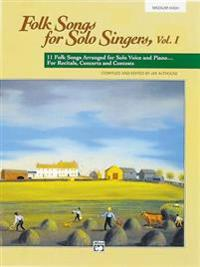 Folk Songs for Solo Singers