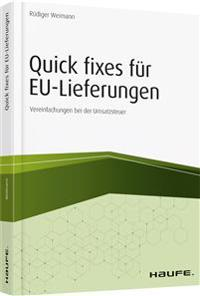 Quick Fixes für EU-Lieferungen - inkl. Arbeitshilfen online