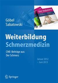 Weiterbildung Schmerzmedizin: Cme-Beitrage Aus: Der Schmerz Januar 2012 - Juni 2013