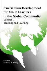 Curriculum Development for Adult Learners in the Global Community