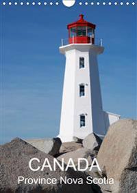 Canada Province Nova Scotia (Wall Calendar 2020 DIN A4 Portrait)