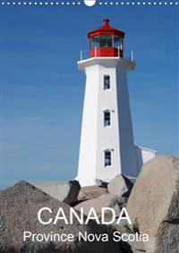 Canada Province Nova Scotia (Wall Calendar 2020 DIN A3 Portrait)