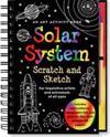 Scratch & Sketch Solar System