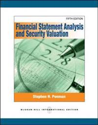 Financial Statement Analysis and Security Valuation (Int'l Ed)