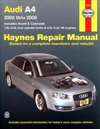 Haynes Repair Manual Audi A4, 2002-2008