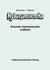 Nybörjarsvenska svensk-vietnamesisk ordlista