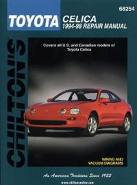 Toyota-Celica 1994-98: Covers All U.S. and Canadian Models of Toyota Celica