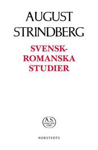 Svensk-romanska studier - August Strindberg pdf epub