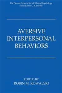 Aversive Interpersonal Behaviors
