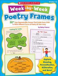 Week-By-Week Poetry Frames