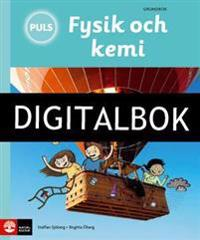 PULS Fysik och kemi 4-6 Tredje uppl Grundbok Digitalbok ljud