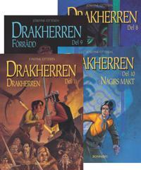 Drakherren. Paket 3, bok 8-11