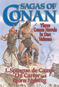 Sagas of Conan: Conan the Swordsman/Conan the Liberator/Conan and the Spirder God