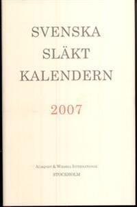 Svenska Släktkalendern 2007