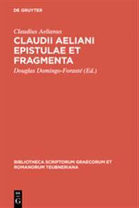 Epistulae Et Fragmenta CB