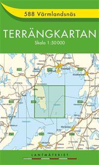 588 Värmlandsnäs Terrängkartan : 1:50000