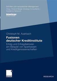 Fusionen Deutscher Kreditinstitute