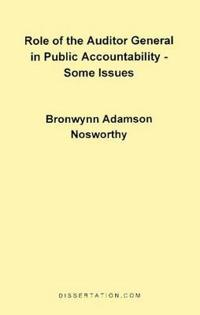 Role of the Auditor General in Public Accountability