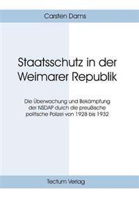 Staatsschutz in Der Weimarer Republik