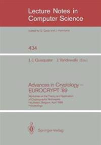 Advances in Cryptology - EUROCRYPT '89