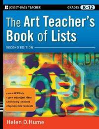 The Art Teacher's Book of Lists, Grades K-12