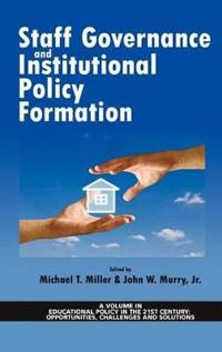 Staff Governance and Institutional Policy Formation (Hc)