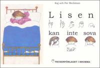 Lisen kan inte sova - Barnbok med tecken för hörande barn
